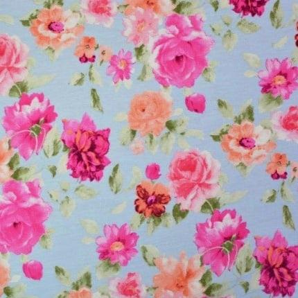 Macy in Blue Fabric-0