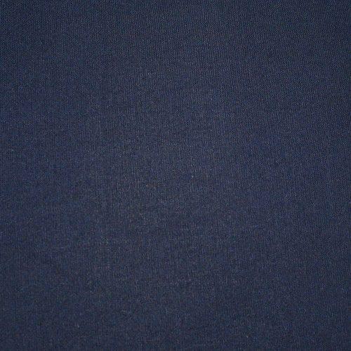 Navy Plain Fabric-0