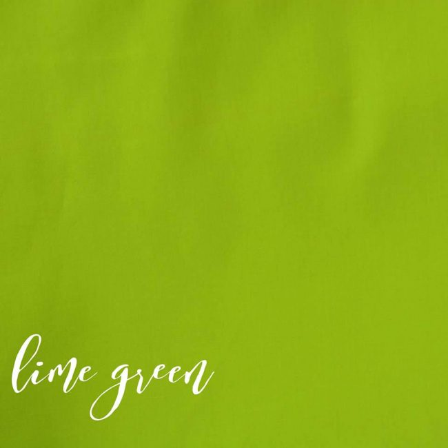 Lime Green Plain Fabric-0