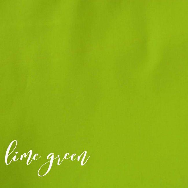 Lime Green Plain Fabric-0