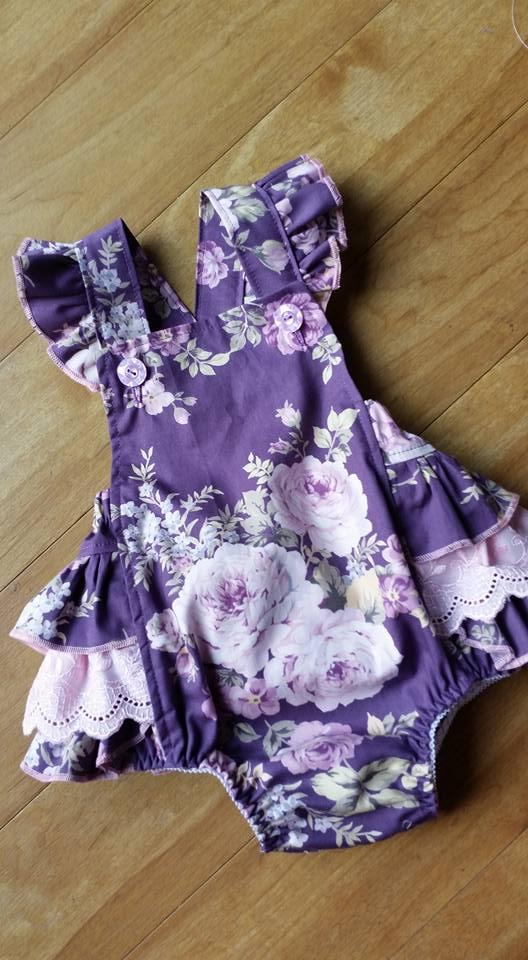 Juliet in Dusty Purple Fabric -1970