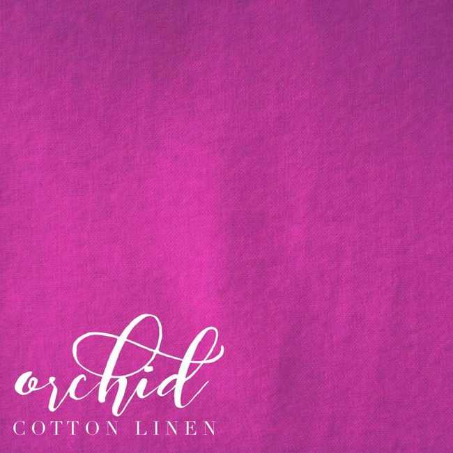 Orchid Cotton Linen -0