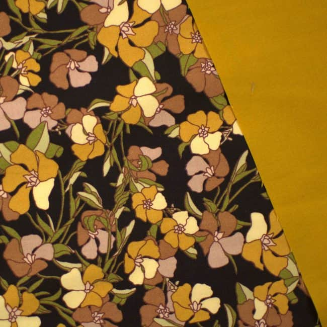 Delaney in Black Fabric -2289