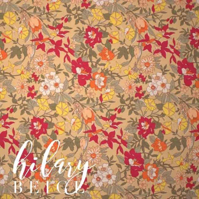 Hilary in Beige Fabric -0