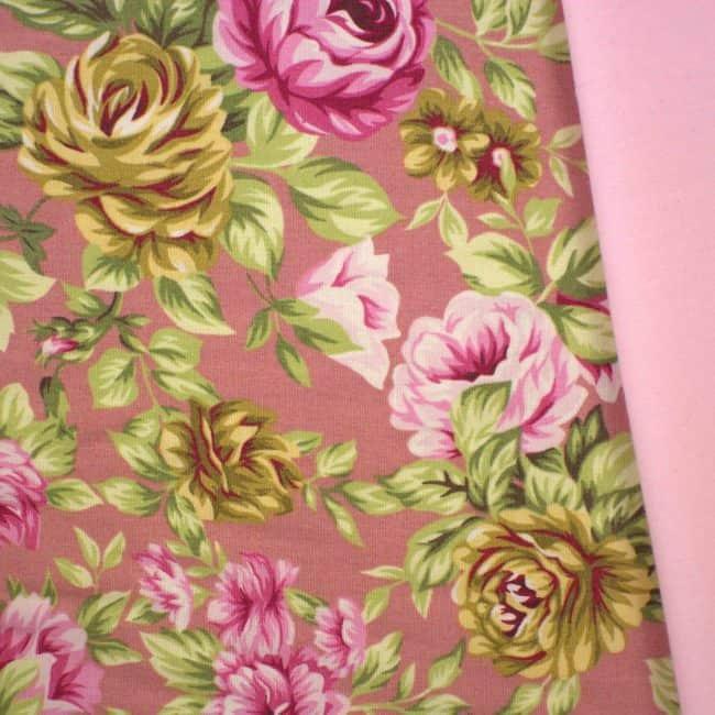 Iliana with Baby Pink Plain Fabric