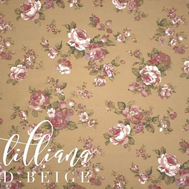 Lilliana in D.Beige Fabric -0