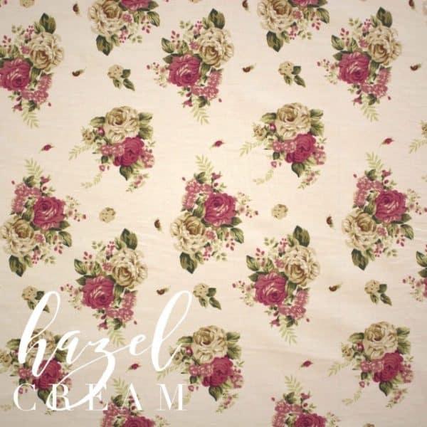 Hazel in Cream Fabric -0