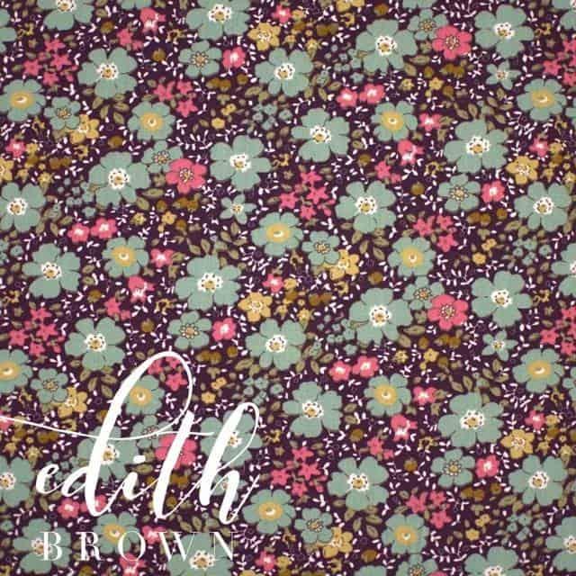 Edith in Brown Fabric -0