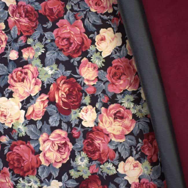 Grey Corduroy Fabric -3434