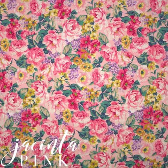 Jacinta in Pink Fabric -0