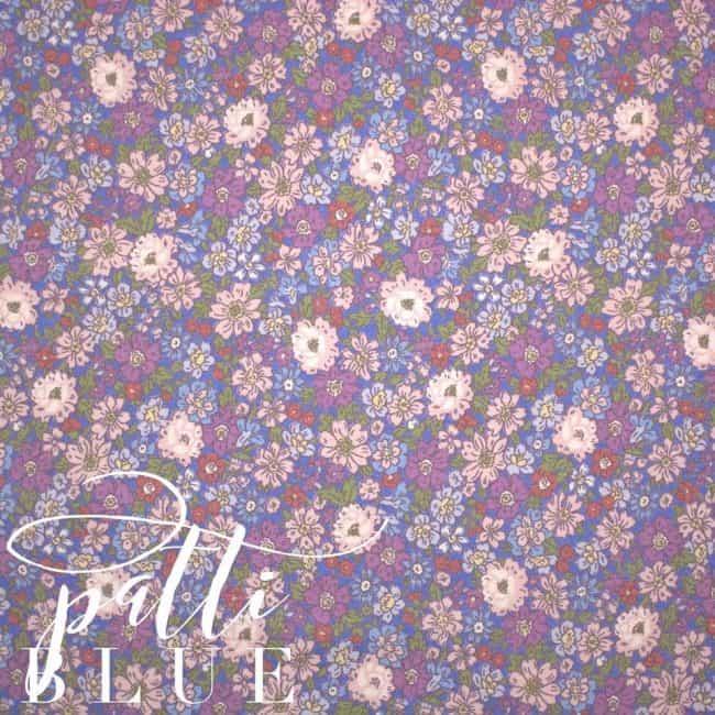 Patti in Blue Fabric -0