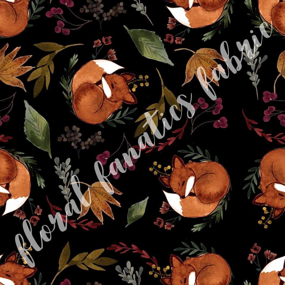 Oliver Fox in Black Fabric PRE-ORDER-0