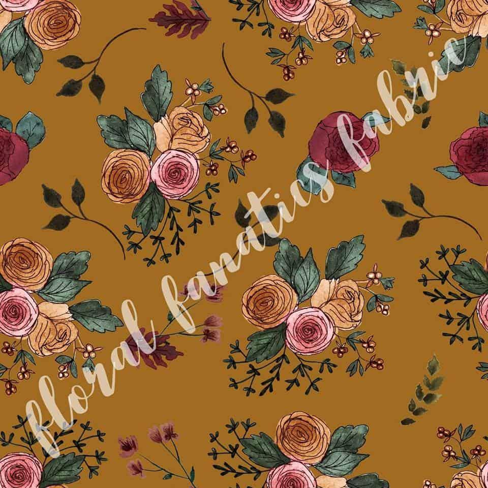 Vanessa in Mustard Fabric PRE-ORDER-0