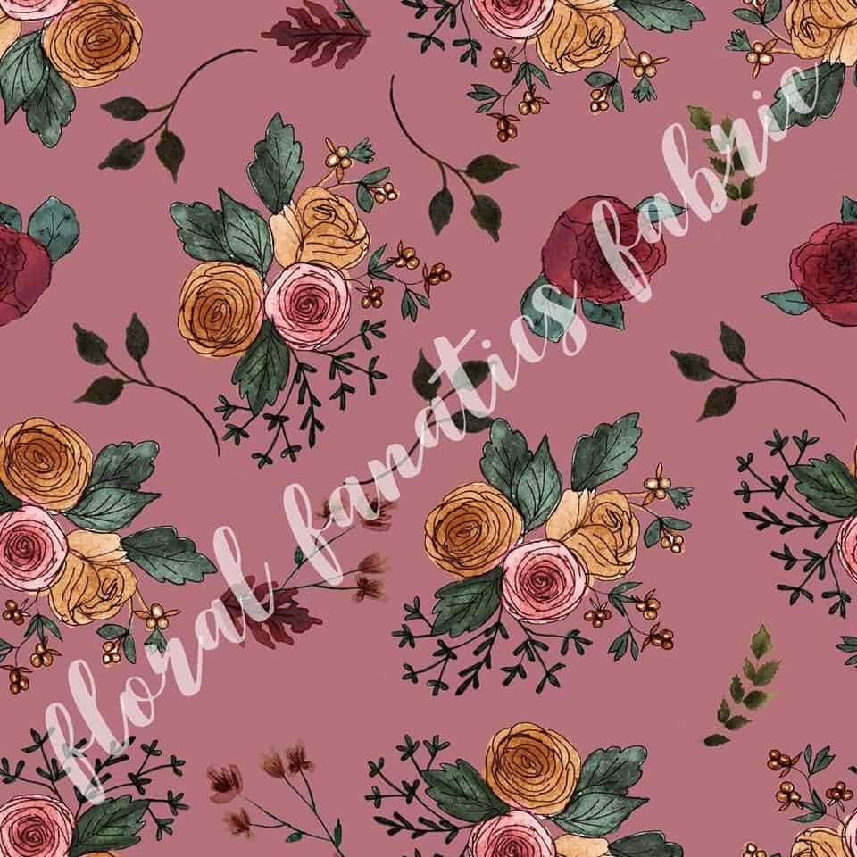 Vanessa in Pink Fabric PRE-ORDER-0
