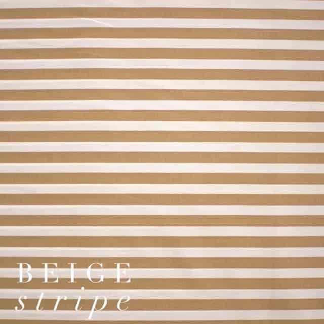 Beige Stripe Fabric-0