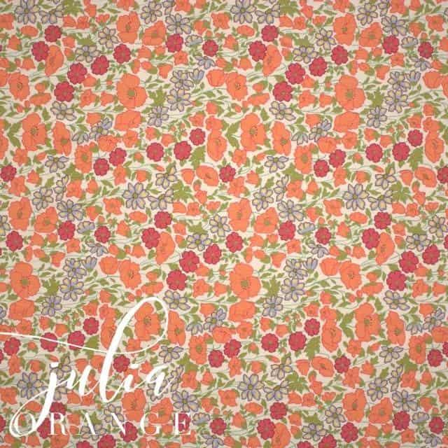 Julia in Orange Fabric-0