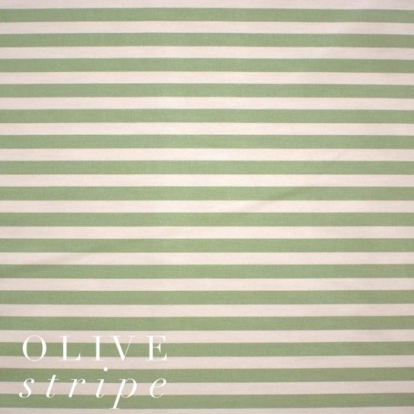 Olive Stripe Fabric-0