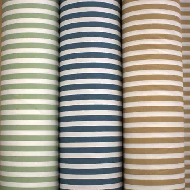 Teal Stripe Fabric-4439
